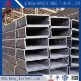 Tubo d'acciaio rettangolare galvanizzato tuffato caldo vuoto del acciaio al carbonio