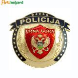 Pin elegante do emblema do metal do projeto do cliente
