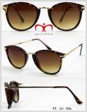 Óculos de sol de venda quentes da proteção UV400 com templo do metal (WSP601536)