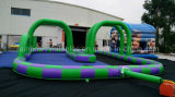 Heiße verkaufende aufblasbare Laufring-Spur-Sport-Spiele für Kinder, aufblasbares Spiel