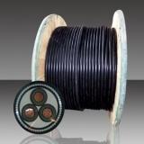 XLPE a isolé la bande en acier de câble d'alimentation de gaine de PVC blindée