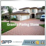 Pavimentación de granito de piedra natural para el paisaje, el jardín, la pavimentación de la calzada