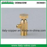 Válvula de purga de cobre amarillo de la alta precisión para el aire (AV-PV-2006)