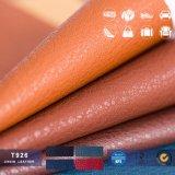 袋のための高品質の工場価格PU PVCレザーか靴またはベルトまたはシート