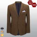 最新のデザイン2ボタンの方法スーツのブレザーと決め付けられるOEMの人