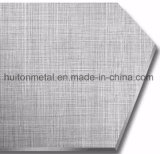 Plaque de pression en acier de fini de tissu