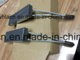 Material de construção concreto pré-fabricado de aço plana insertos de soquetes de elevação do Casquilho