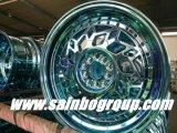 O alumínio de 17 polegadas roda bordas das rodas da liga do carro do mercado de acessórios
