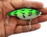 7.5Cm 18g Vib en plastique dur #6 Crochet crochet de la pêche appât leurre