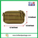 キャンバスの軍隊の緑の軍のショルダー・バッグ