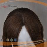 Красивые длинные волнистые кружева Wig коричневого цвета