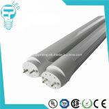 Los materiales nanométricos alto lumen 1200mm 18W T8 Tubo de LED