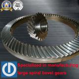Espiral mesa rotatoria de la perforación petrolífera forja Engranajes