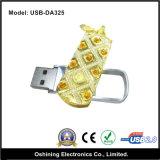 Memoria Flash Drive del diamante con Keychain (USB-DA325)