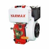Moteur diesel simple refroidi par air du cylindre 198f de Yarmax