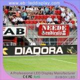 P10 тонкий портативный спортивный светодиодный индикатор для отображения рекламы по периметру стадиона Footabll (5200 нит)