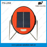 Portable 2 años de garantía y mini lámpara de lectura solar comprable con la batería LiFePO4 (PS-L058)