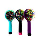 Grande taille Rainbow Démêlant volume brosses Brosses à cheveux sèche Curl droites Peignes avec miroir magique Rainbow brosse à cheveux