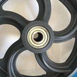 Rotella di gomma solida del pneumatico 13X3.25-8 della gomma piuma dell'unità di elaborazione