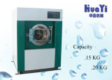 Estrattore industriale della rondella automatica della lavatrice del panno di risparmio 100kg dell'acqua