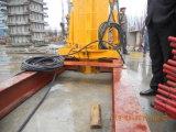 Columna tubular la colocación de hormigón hidráulico de aguilón con 29m 33m la colocación de las armas