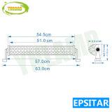 20дюйма Epistar 120 Вт с двумя рядами LED изогнутые штанги освещения