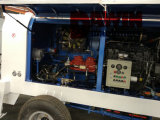 Hbt60 트레일러 Deutz 엔진을%s 가진 정지되는 디젤 엔진 구체 펌프