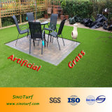 Ajardinando a grama falsificada, ajardinando o gramado artificial, ajardinando o relvado, ajardinando a grama,