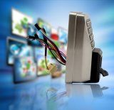 Toegangsbeheer van de Poort van de Vingerafdruk van Zksoftware het Biometrische Met Toetsenbord