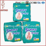 공기 Laid Paper Feature와 Babies Age Group Sunny Baby Disposable Diapers