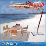 Vector de cena de madera de la venta caliente y conjunto de cena al aire libre moderno de las sillas