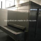 Congelação rápida individual da máquina do congelador IQF do túnel da correia da placa