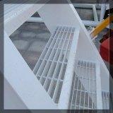 Caillebotis en acier galvanisé les voies de l'escalier extérieur