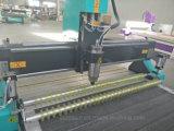 Cabeças Duplas para trabalhar madeira Máquina Router CNC para mobiliário de gravação