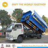 8t de basura de compresión de camión de servicio
