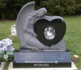 Il monumento/pietra tombale di pietra del granito con progetta