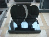 Memoriale/Headstone neri dei bambini di Basketbal della pietra del granito