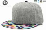 Custom Cool Snapback Hiphop Cap com bordado bordado e impressão