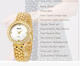Montre de luxe de diamant de femmes de Jewelty spécialisée dans le mouvement du Japon PC21 d'usine de modèle de montre-bracelet faite sur commande de logo Nice pour la marque Belbi de dames