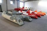 4m Hypalon Rib Boat (venta caliente con SAIL fuera de borda 15HP E-start)