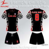 Healong販売のための新しいデザイン服装の昇華男子サッカージャージー