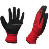 С покрытием из латекса дешевые промышленного труда защитные перчатки рабочие перчатки безопасности