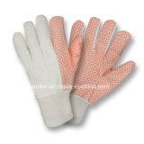 Вещевой ящик труда хлопок Перчатки рабочие перчатки для полотенного транспортера