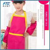 Avental de poliéster algodão barato Imprimir Kids avental de trabalho de cozinha