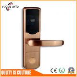 Cartão RFID Digital padrão americano fechadura da porta de hotel com trava única