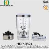 USBの料金のプラスチック渦の粉のシェーカーのびん、携帯用プラスチック電気蛋白質のシェーカーのびん(HDP-0824)