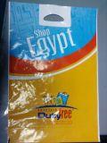 LDPE gestempelschnittene Griff-Plastiktaschen für Nahrung (FLD-8535)