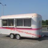 Для мобильных ПК мороженое киоск по продаже Fast Food Popsicle прицепа торговые автоматы тележки