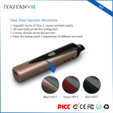 Cigarrillo seco del vaporizador E de la hierba de la mini del titán calefacción de cerámica del vaporizador 1300mAh