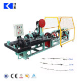 2개의 물가 가시철사 제조 기계장치